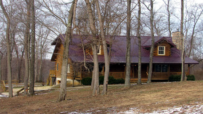 Hocking Hills Cabins.