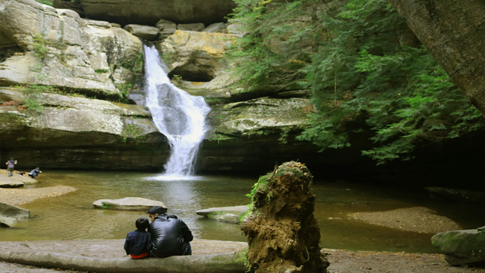Cedar Falls - Hocking Hills State Park in Southern Ohio.